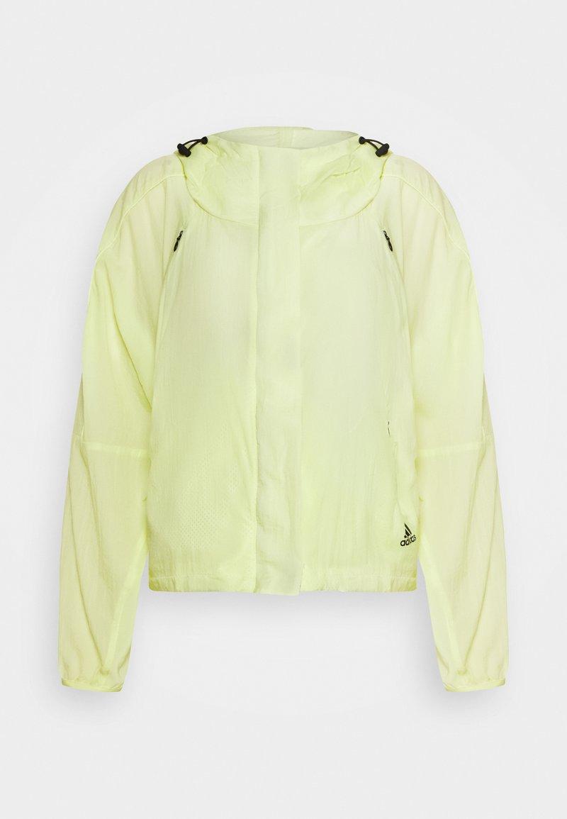 adidas Performance - Treningsjakke - yellow