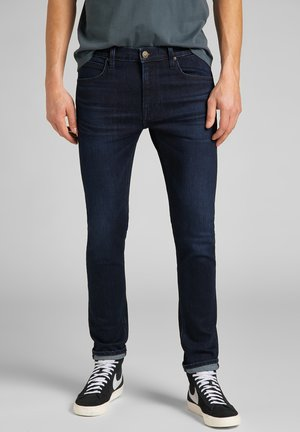LUKE - Jeans slim fit - asphalt grey/mid grey