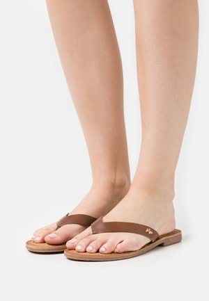 GRIZZLY - T-bar sandals - tan