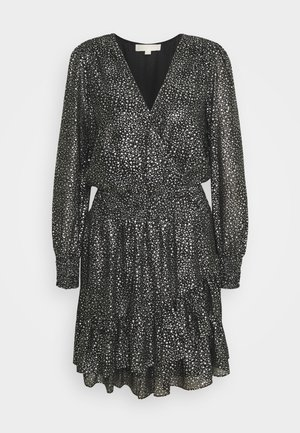 SPACED GALAXY  - Cocktail dress / Party dress - black / silver