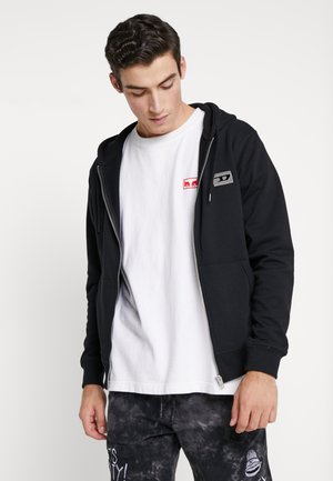 BRANDON - Sweatjacke - black