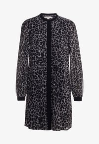 MICHAEL Michael Kors - CHEETAH  - Shirt dress - gunmetal - 4