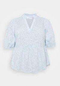 Selected Femme Curve - SLFPERNIL - Print T-shirt - arctic ice - 0