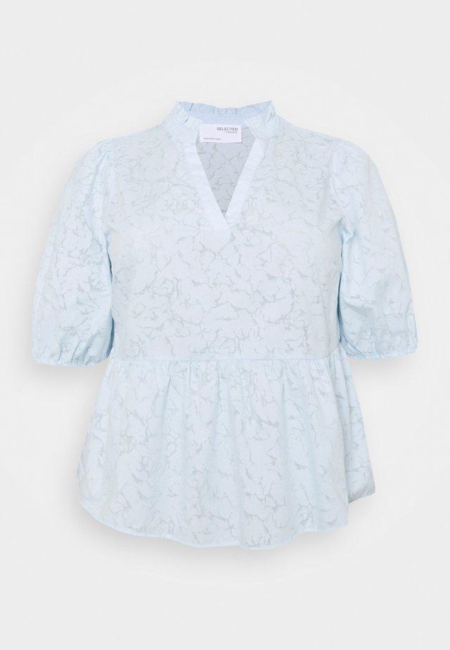 SLFPERNIL - T-shirts med print - arctic ice