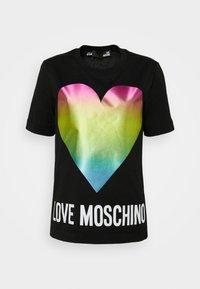 Love Moschino - Triko spotiskem - black - 5