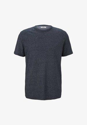 T-Shirt basic - sky captain blue melange