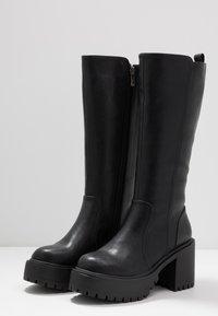 Coolway - BOR - Platform boots - black - 4