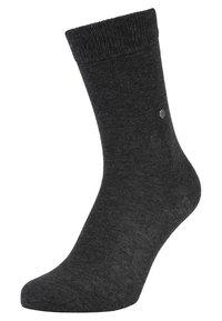 Burlington - 2 PACK - Socken - anthracite melange - 1
