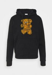 sandro - HOODIE TEDDY - Sweatshirt - noir - 3