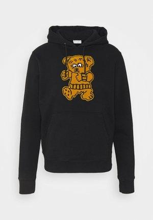 HOODIE TEDDY - Sweatshirt - noir