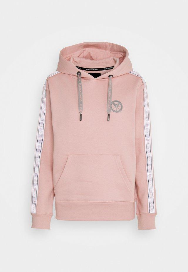 BASIC HOODIE - Sweater - rosé