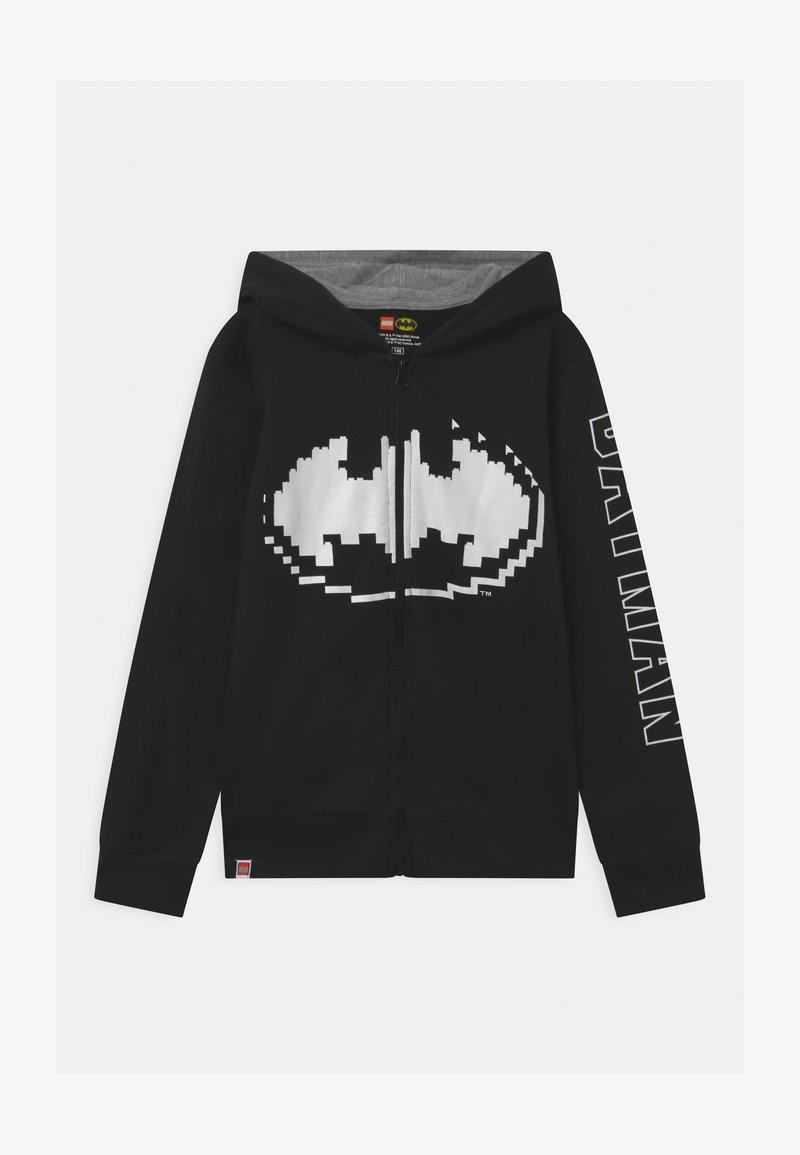 LEGO Wear - HOODIE - Bluza rozpinana - black