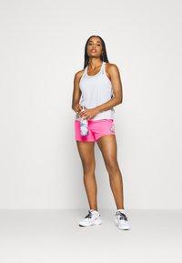 Nike Performance - MILER TANK RACER - Sportshirt - white - 1
