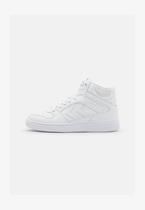 ST POWER PLAY MID UNISEX - Sneakersy niskie - white