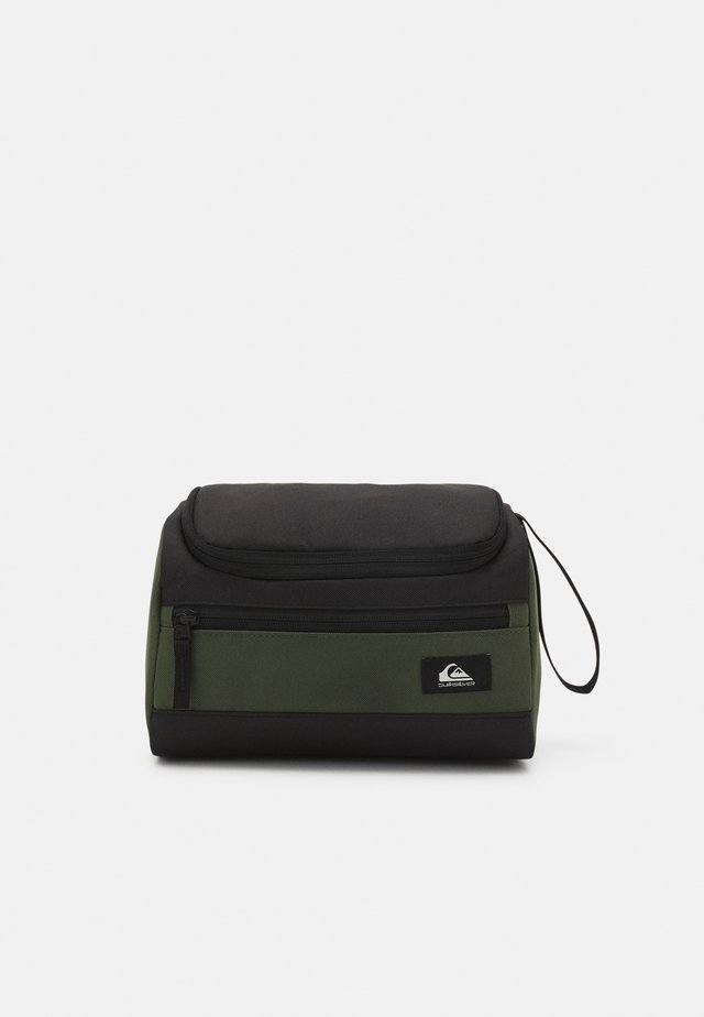 CAPSULE UNISEX - Kosmetická taška - black/thyme