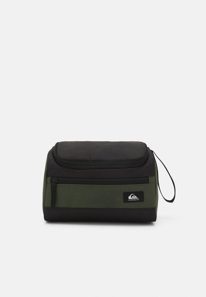 Quiksilver - CAPSULE UNISEX - Wash bag - black/thyme