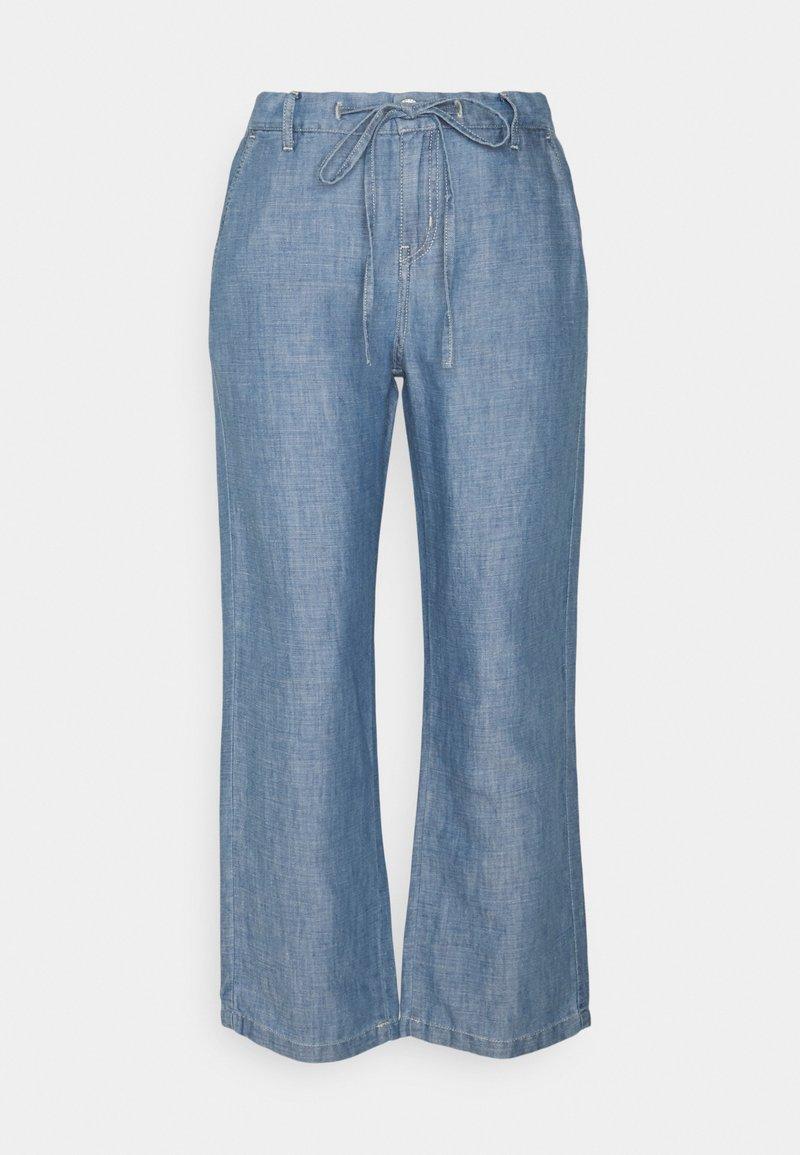 Opus - MITZI - Trousers - fresh blue