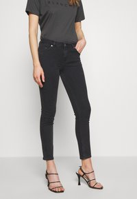 BLANCHE - JADE CROPPED - Jeans slim fit - grey stone wash - 0