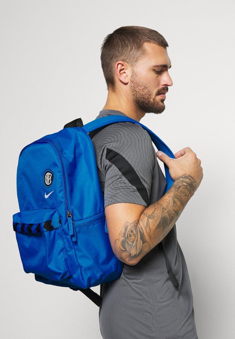Nike Performance - STADIUM INTER MAILAND UNISEX - Rucksack - blue spark/black/white