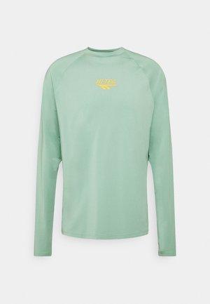 FRANK BASIC LOGO TEE - Long sleeved top - granite green
