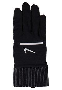 Nike Performance - SPHERE RUNNING GLOVES 2.0 - Fingervantar - black/silver - 4