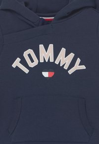 Tommy Hilfiger - BABY HOODED DRESS - Day dress - blue - 2