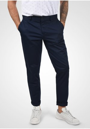 PANTS PELLE - Chinos - navy