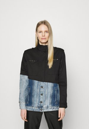 DENVER - Denim jacket - black