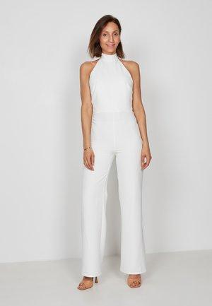 HALTER - Jumpsuit - off white