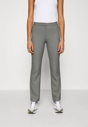 CHANA TIGHT SUIT TROUSER - Kalhoty - antracit grey