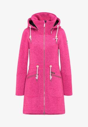 Pitkä takki - pink melange