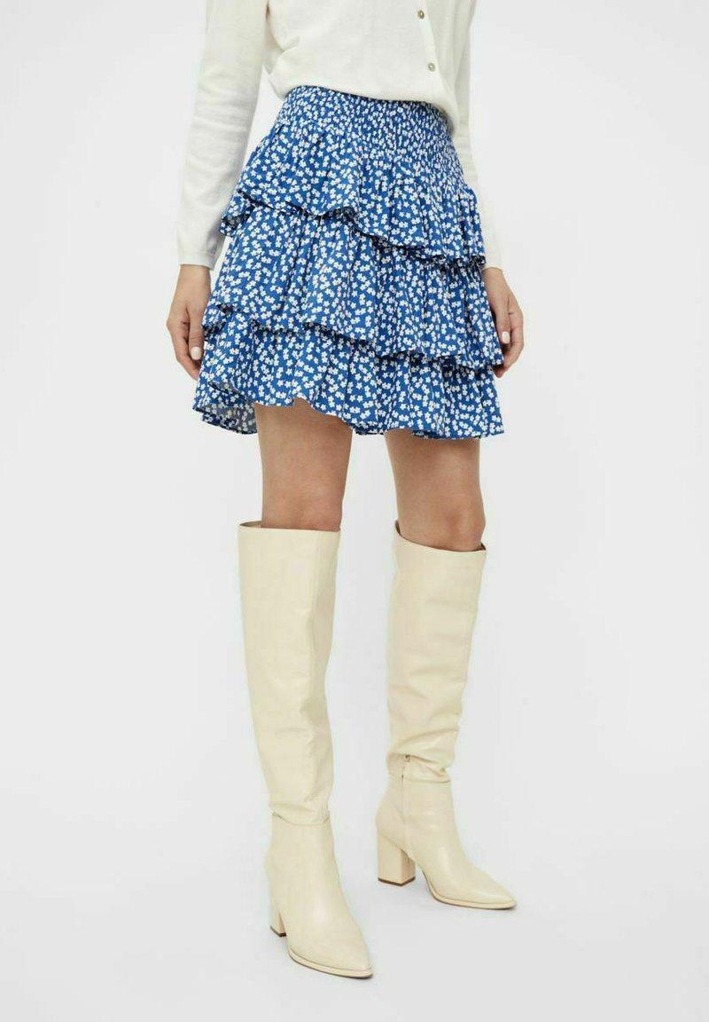 Object - Pleated skirt - sky captain