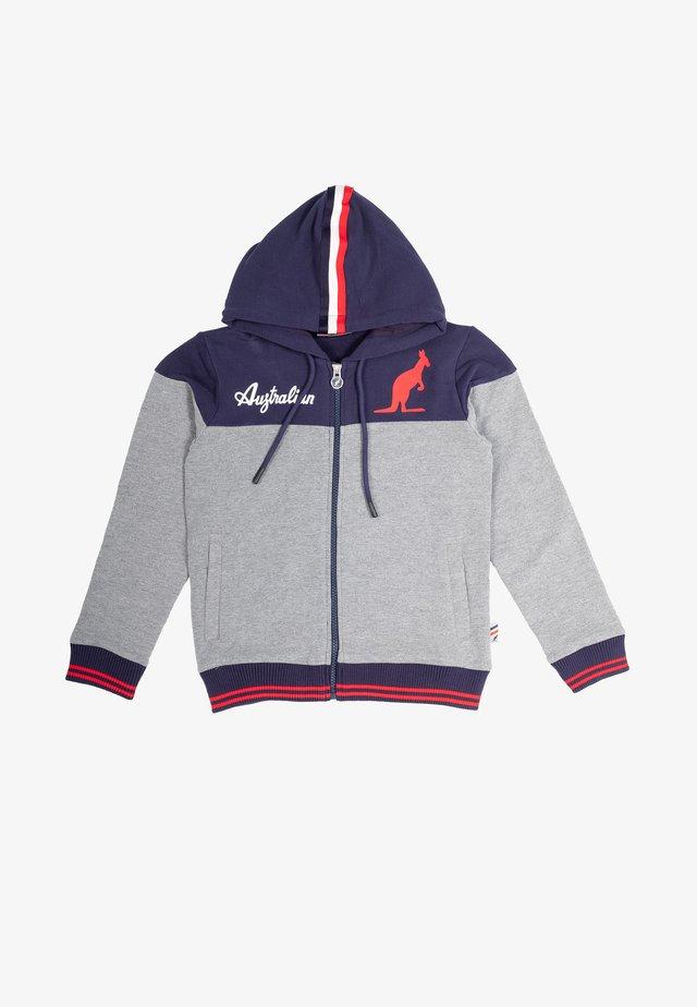 Zip-up hoodie - blu