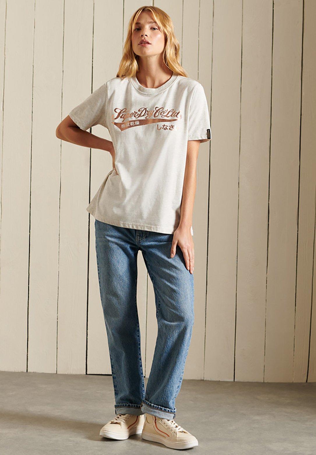 Women SCRIPT - Print T-shirt