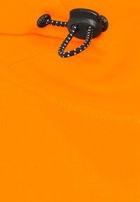 TOM TAILOR DENIM - HOODY WITH SPECIAL FABRIC - Hoodie - goldfish orange - 2