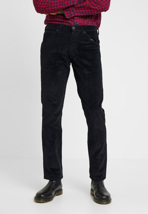 GREENSBORO - Straight leg -farkut - dark navy