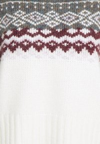 Gina Tricot - CHRISTMAS BELLE SWEATER - Jumper - offwhite/orchid - 2