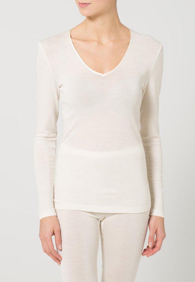 WOOLEN SILK  - Unterhemd/-shirt - cygne