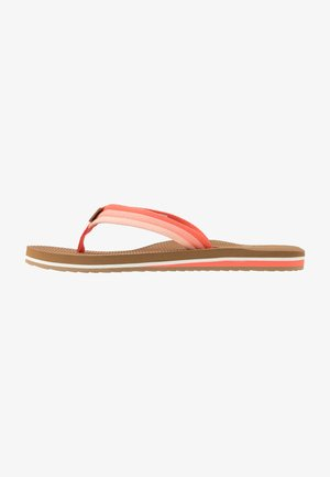 VOYAGE LITE BEACH - Sandalias de dedo - orange