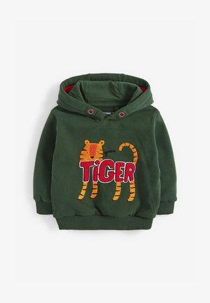 TIGER BOUCLÉ - Hoodie - green