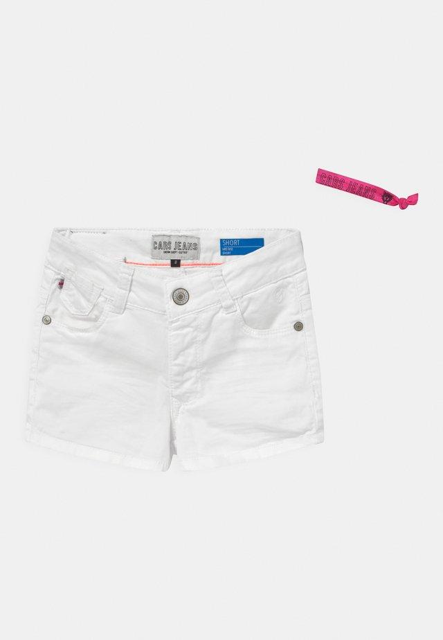 IONI - Short en jean - white