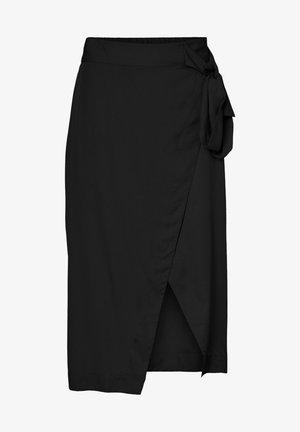 VMKATELIN NW WRAP SKIRT VMA - A-line skjørt - black