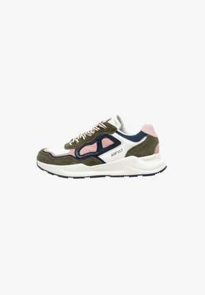 CONCRETE - Trainers - w.olive/pink
