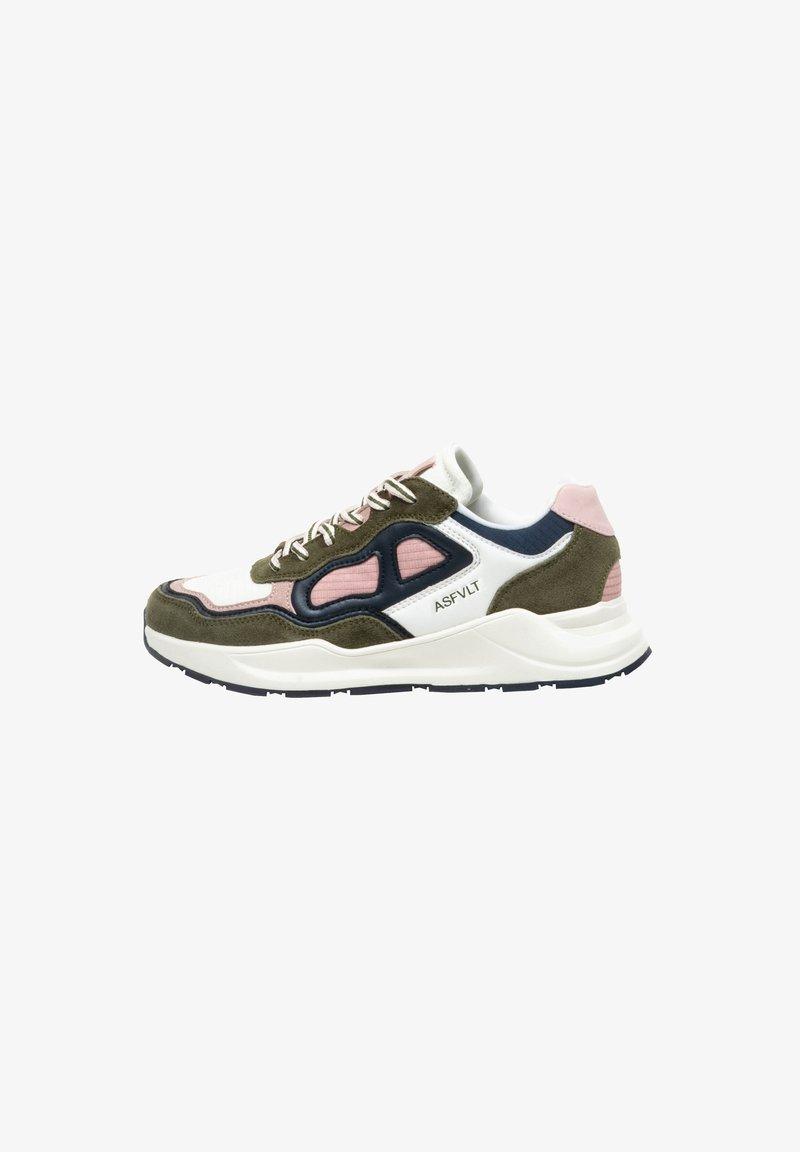 ASFVLT - CONCRETE - Trainers - w.olive/pink