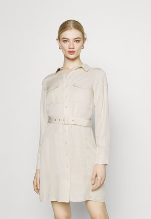 EMILIE UTILITY DRESS - Shirt dress - stone