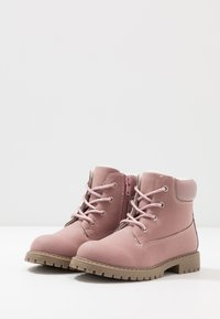 Friboo - Bottines à lacets - old pink - 3