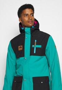 OOSC - YEH MAN JACKET  - Ski jacket - green/black - 3