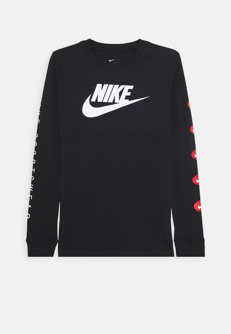 Nike Sportswear - TEE FUTURA - Long sleeved top - black
