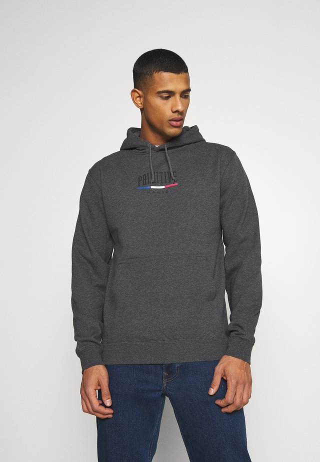 PARIS ARCH HOOD - Sweatshirt - charcoal