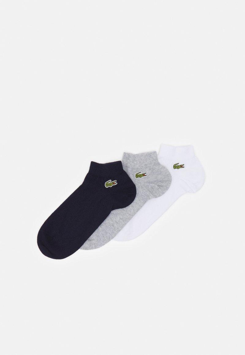 Lacoste - 3 PACK - Socks - argent chine/marine/blanc